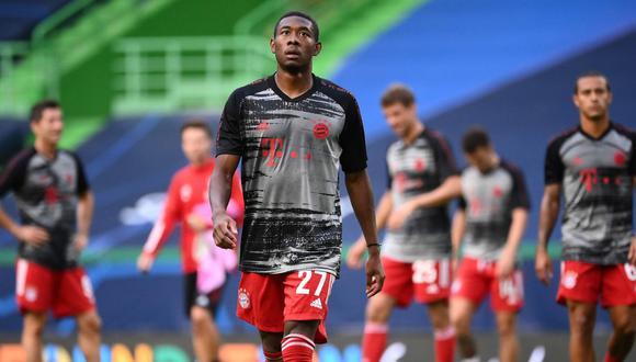 David Alaba termina contrato con el Bayern Munich en junio de 2021. (AFP)