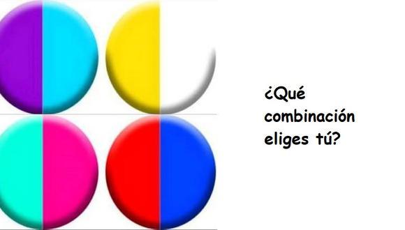 Mira el test viral de los círculos de colores, escoge una combinación y descubre una virtud oculta tuya. (Difusión)