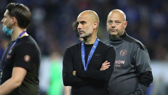 Pep Guardiola perdió la primera final de Champions League en su carrera. (Foto: EFE)