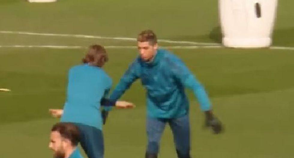 Cristiano y Luka Modric han ganado tres Champions en Real Madrid. (YouTube)