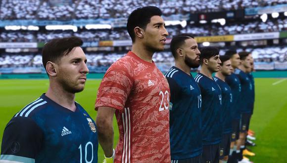 PES 2021: Así luce Lionel Messi y la selección argentina en el simulador de Konami