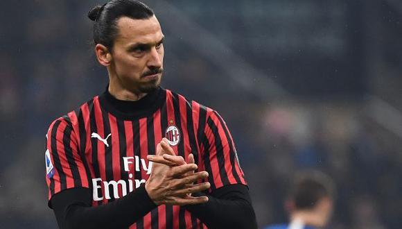 Ibrahimovic es el goleador del AC Milan desde su vuelta en la temporada pasada.