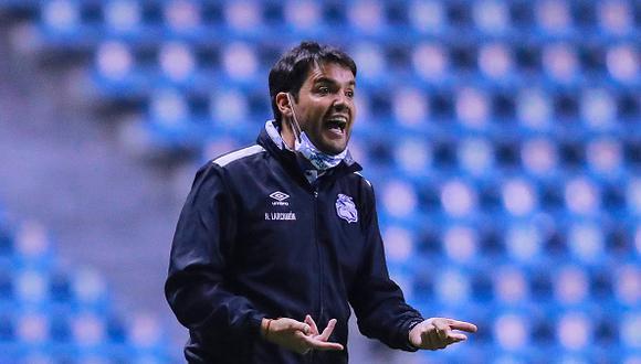 Nicolás Larcamón es el encargado de guiar a Puebla al título de la Liga MX esta temporada (Foto: Getty Images)