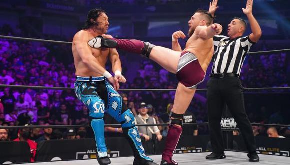 Bryan Danielson y Kenny Omega tuvieron lucha de ensueño en AEW. (AEW)