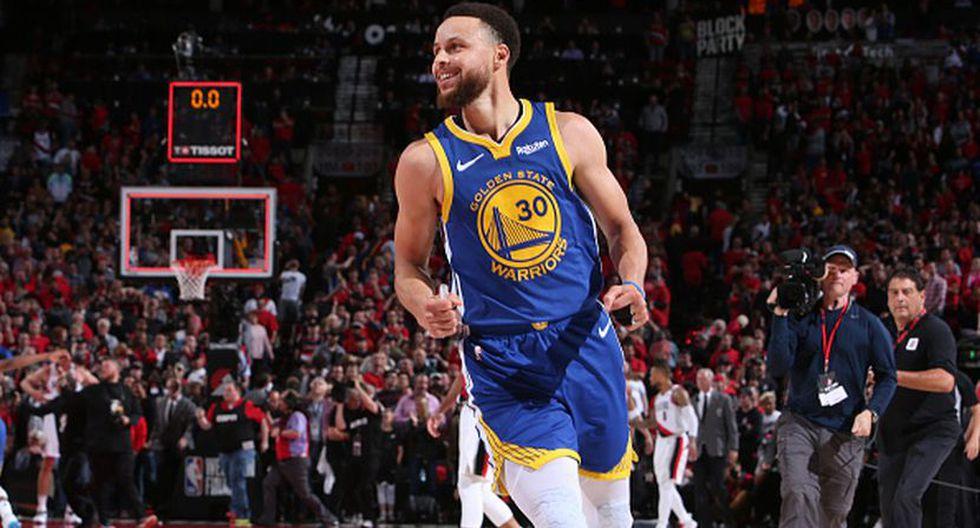 Stephen Curry es uno de los que lideró la victoria de los Warriors (Getty Images)