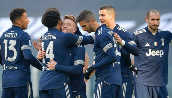 Juventus venció al Bologna por la fecha 19 de la Serie A. (Foto: Twitter Juventus)