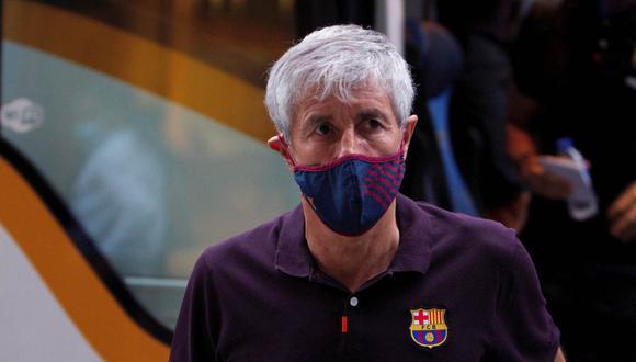 La opinión de Quique Setién sobre el sorteo de la Champions League. (Foto: EFE)