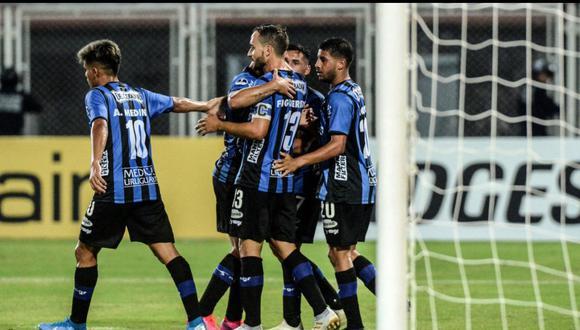 Liverpool de Uruguay ganó 2-0 en visita a Llaneros de Venezuela por la Copa Sudamericana 2020.