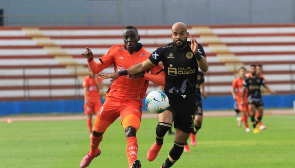 César Vallejo igualó 1-1 contra Cusco FC (Foto:LIGA 1)