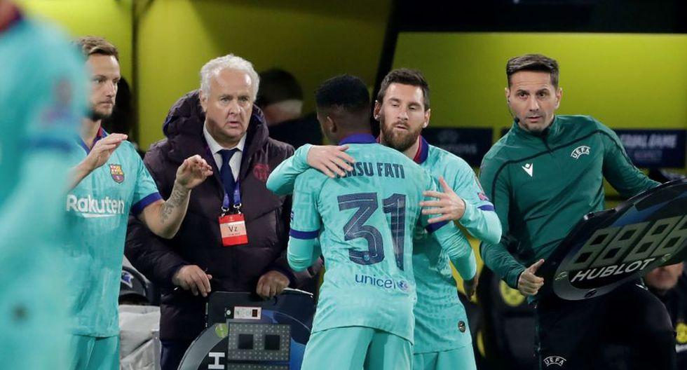En Barcelona dicen que el heredero de Messi es Ansu Fati. (Getty Images)