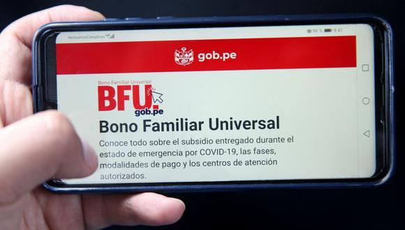 Consulta aquí qué hacer si no cobré el segundo Bono Familiar Universal en la modalidad que me correspondía (Foto: Andina)2