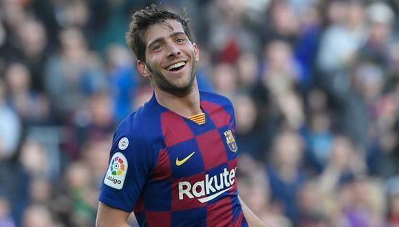 Sergi Roberto ya se ha perdido dos partidos de Barcelona por la lesión. (Foto: AFP)