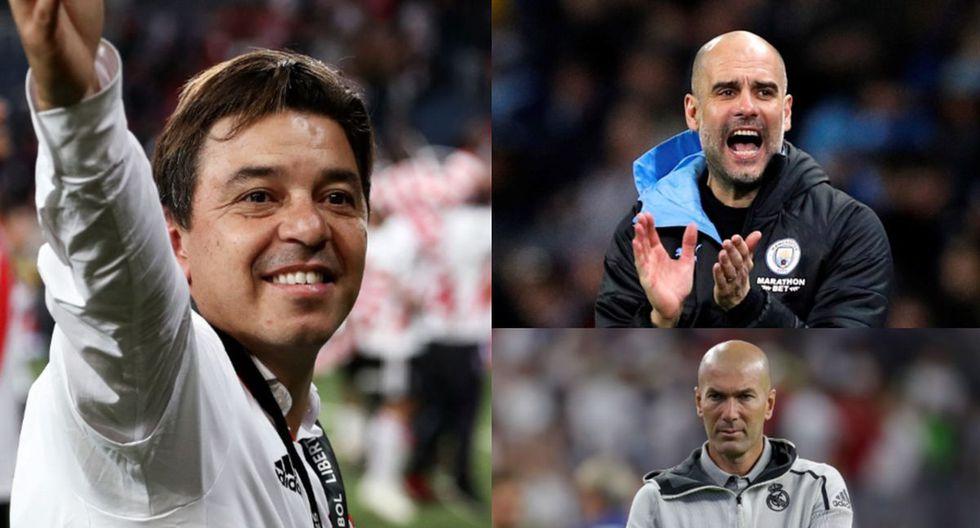 Los mejores entrenadores en la actualidad para Club World Ranking. (Fotos: Getty Images)