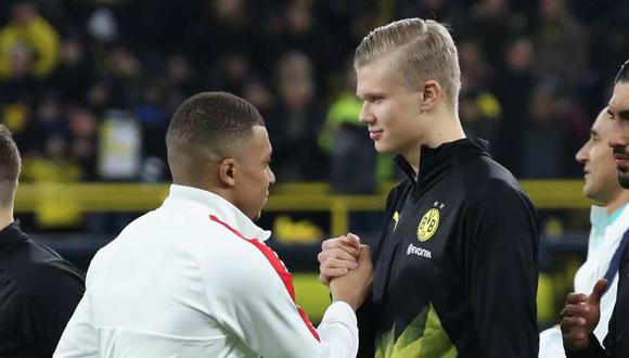 Erling Haaland tiene contrato con el Borussia Dortmund hasta el 2024. (Foto: Getty)