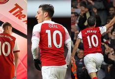 Ya hay sucesor de Ozil: Smith Rowe y los otros jugadores que portaron la '10′ del Arsenal [FOTOS]