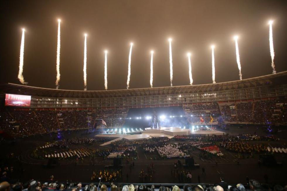 Las mejores postales de la ceremonia de inauguración de los Juegos Parapanamericanos 2019. (Fotos: Violeta Ayasta/Hugo Pérez)