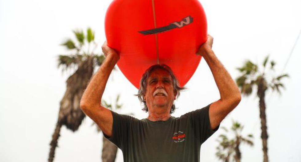 'Wayo' Whilar, el legendario 'shaper' que continúa haciendo tablas de surf en plena pandemia de coronavirus [FOTOS]