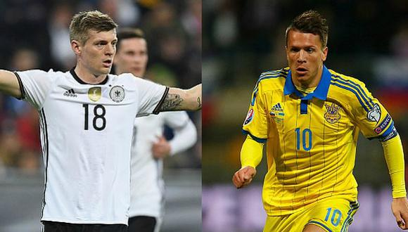 Alemania vs. Ucrania por la Eurocopa Francia 2016 (Getty Images).