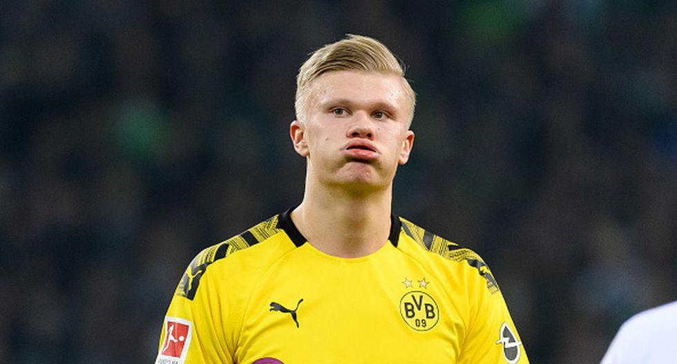 Erling Haaland / Borussia Dortmund. (Foto: Agencias)