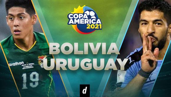 Partido Bolivia vs. Uruguay EN VIVO por Copa América: chocan por fecha 4 de Copa América