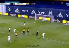 Inatajable: el gol de Lionel Messi para el 1-0 de Argentina vs. Ecuador en La Bombonera [VIDEO]