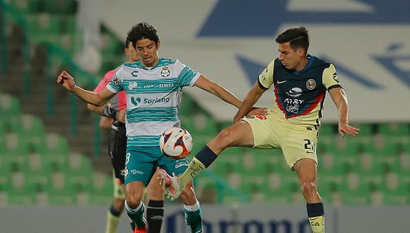 América y Santos Laguna repartieron puntos en Torreón. (Getty)