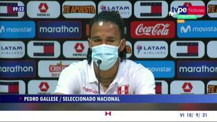 """Pedro Gallese: """"Tenemos el sueño de ir al Mundial. Quedan puntos en juego"""""""