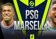 Vía STAR+, PSG vs Marsella EN VIVO: sigue los horarios y canales TV del 'Clásico' por Ligue 1
