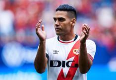"""""""Un jugador de élite"""": Iraola se deshace en elogios hacia Radamel Falcao"""