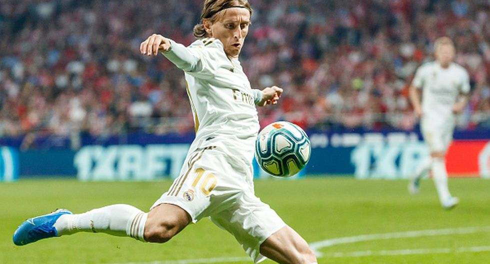 Luka Modric - 10,5 millones de euros. (Getty Images)