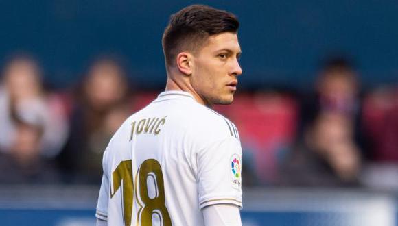 Luka Jović tiene un contrato vigente con el Real Madrid hasta junio de 2025. Esta será su tercera temporada en la capital española. (Foto: Real Madrid)