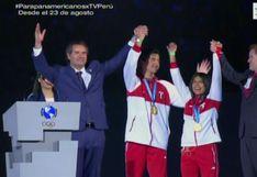 Con un gran propósito: se entregaron las últimas dos medallas de oro para Perú VIDEO]