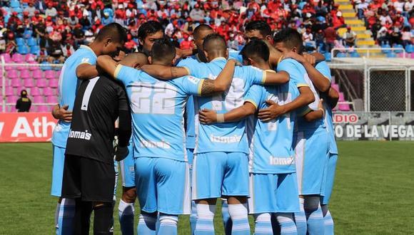 Jugadores de Llacuabamba reclaman pago de liquidaciones. (Foto: Deportivo Llacuabamba)