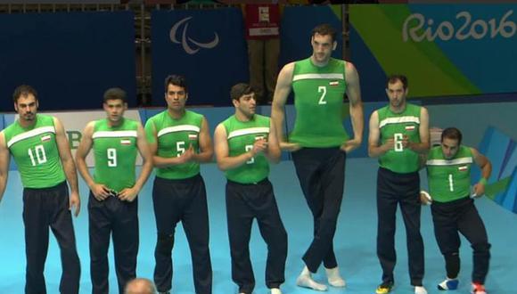 Conoce al gigante iraní de 2,46 metros que competirá en los Juegos Paralímpicos de Tokio 2020. (Rio 2016)