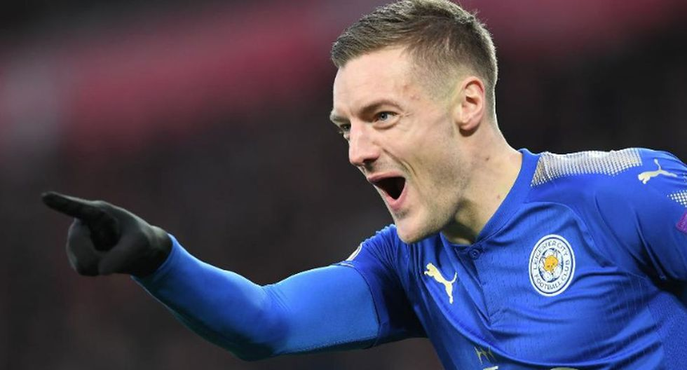 Jamie Vardy. Actualmente sigue jugando en el Leicester City. (Getty Images)