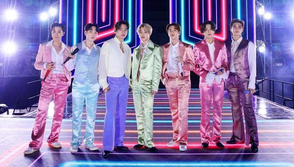 """BTS estrenó hace unas semanas """"Butter"""", su nuevo sencillo que ya tiene más de 315 millones de reproducciones en YouTube. (Foto: AMERICAN BROADCASTING COMPANIES, INC. / ABC / AFP)"""