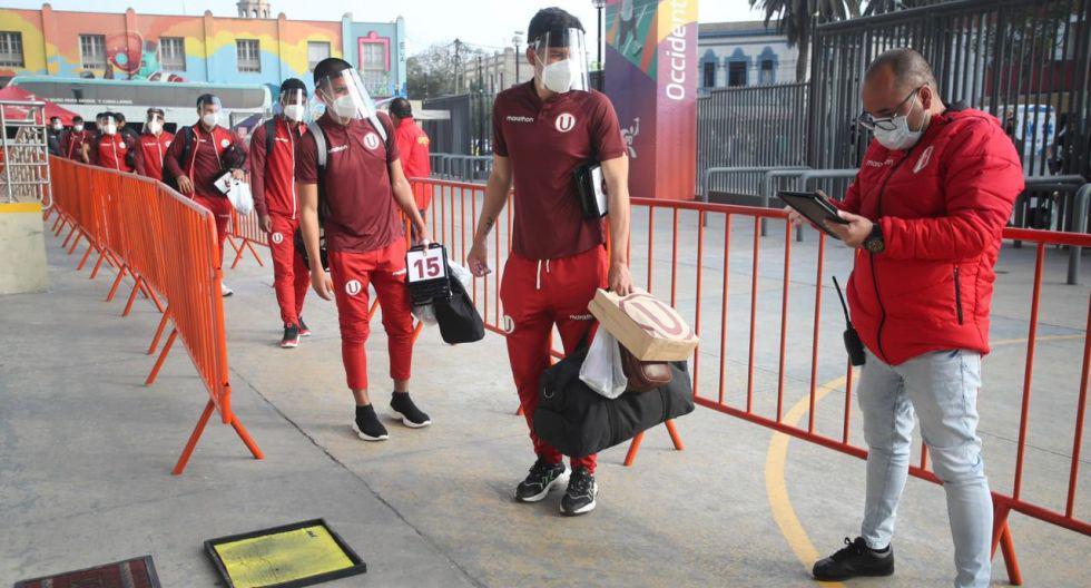 Universitario vs. Cantolao: así llegaron los equipos al Estadio Nacional. (Foto: Liga 1)