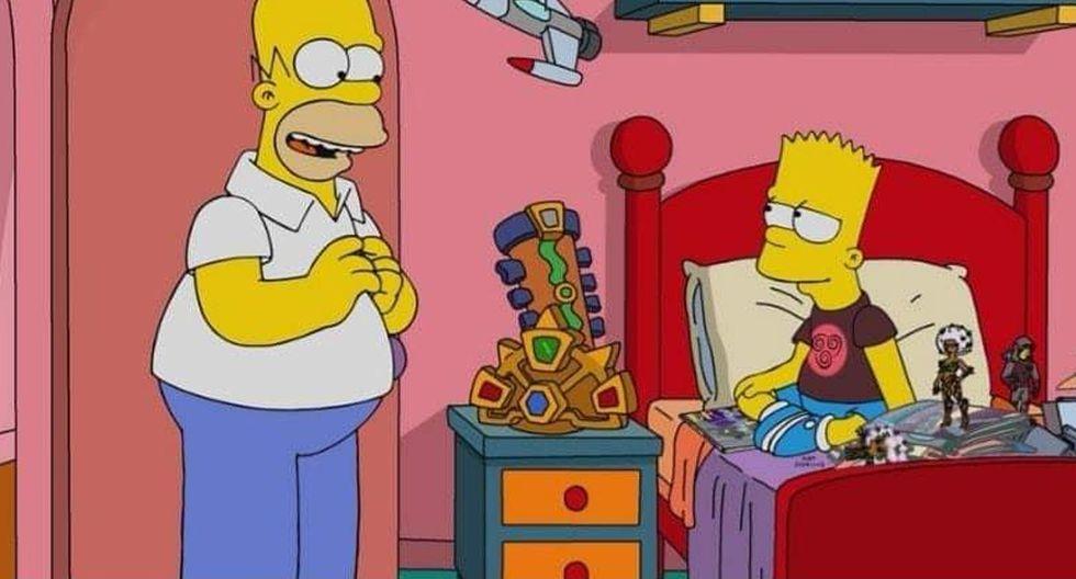 """""""Avengers: Endgame"""": Los Simpsons presentan una parodia de los Vengadores. (Foto: Fox)"""