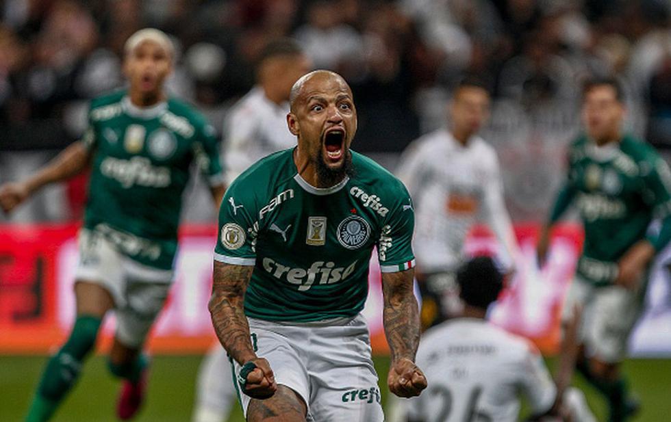 Felipe Melo – 37 años – Palmeiras. (Getty)