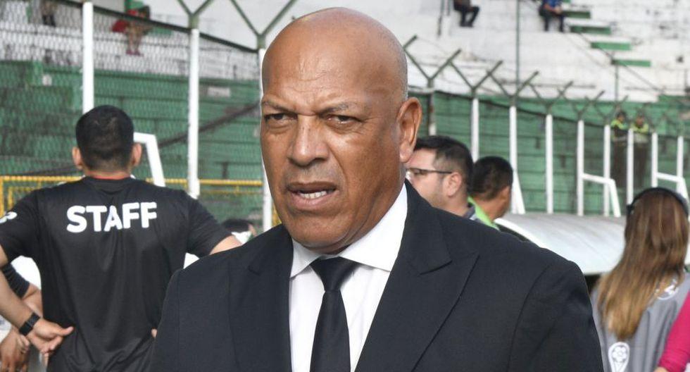 Roberto Mosquera llegó a Royal Pari luego de dirigir al Jorge Wilstermann. (AFP)