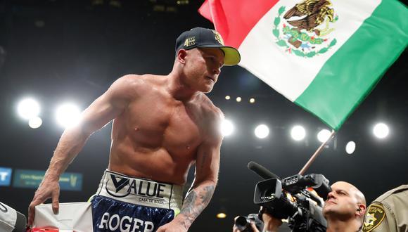 'Canelo' Álvarez regresará a pelear el 19 de diciembre ante el británico Callum Smith. (Foto: AFP)