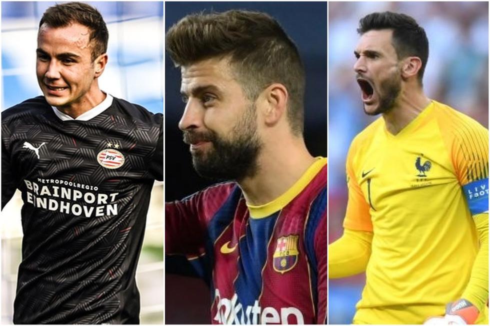 Las figuras del fútbol que ya tenían dinero antes de lograr la fama mundial.