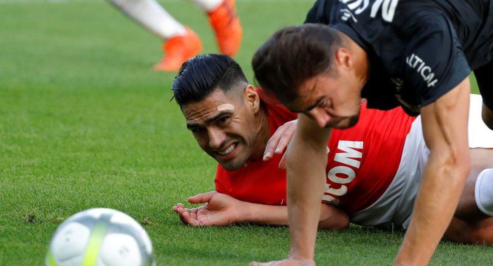 Radamel Falcao descartado para enfrentar al Besiktas (Foto: REUTERS)