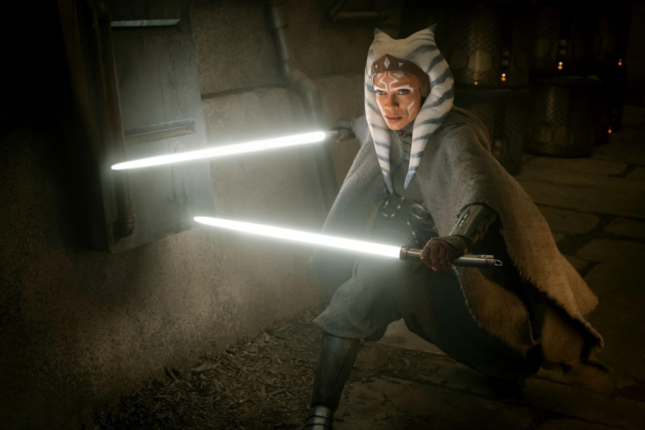 """La jedi Ahsoka Tano, una de las más atractivas apariciones en la segunda temporada de """"The Mandalorian"""". Ya se anunció que tendrá su propia serie. (Foto: Disney+)"""