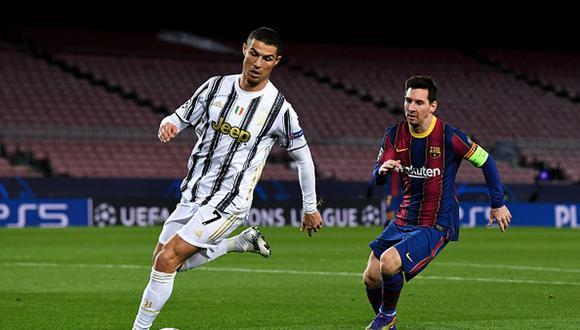 Cristiano Ronaldo le escribió a Rio Ferdinand tras comparación con Lionel Messi. (Foto: Getty)