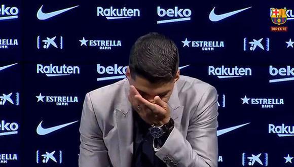 Luis Suárez jugó seis temporadas en el Barcelona. (FC Barcelona)