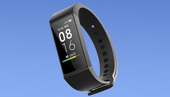 ¿Un reloj con batería de hasta 2 semanas? Conoce todas las características y precio de la Xiaomi Mi Band 4C. (Foto: Xiaomi)