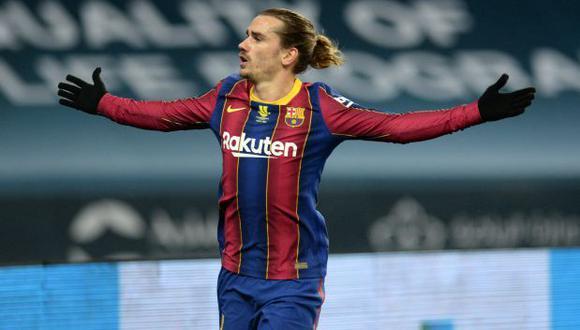 Antoine Griezmann tiene contrato con el Barcelona hasta junio de 2024. (Foto: AFP)