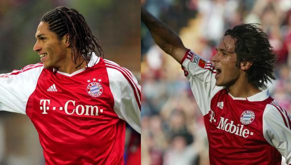Paolo Guerrero y Roque Santa Cruz jugaron en el Bayern Munich durante el 2003 y 2006. (Foto: Agencias)