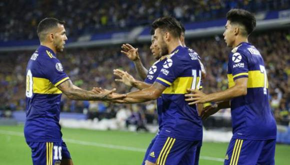 Boca Juniors vs Inter de Porto Alegre fue suspendido. (Difusión)